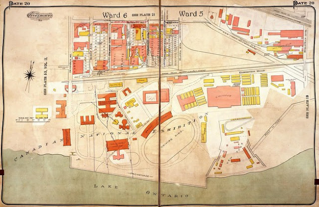 Plate 20, Goad's Atlas of the City of Toronto, 1924