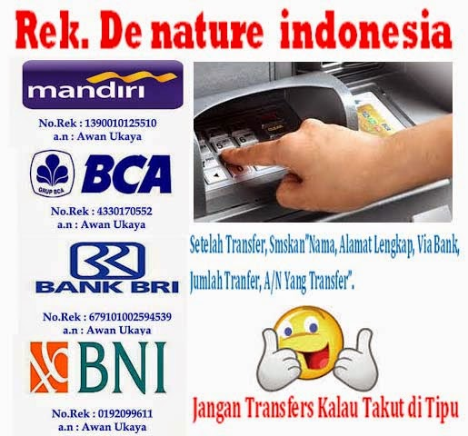Rekening De Nature Indonesia