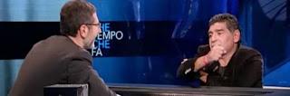 """Saccomanni contro Maradona: il suo """"vaffa…"""" mi ha profondamente offeso"""