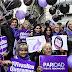Miles de mujeres se movilizaron contra la violencia machista y reclamaron políticas públicas