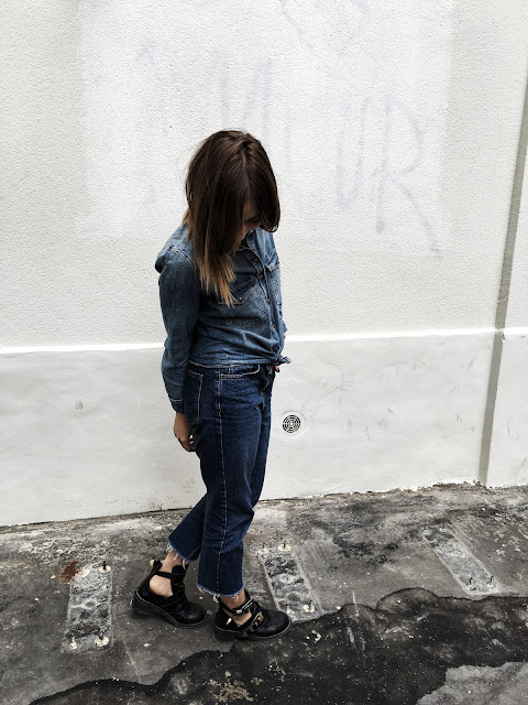 look ootd outfit mode fashion style femme women jeans topshop zara hm photo paris