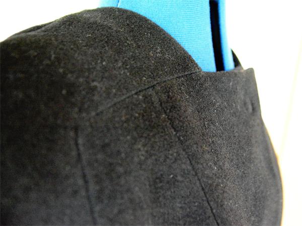 Einsatzdetail Mantel- bzw. Jackenfront