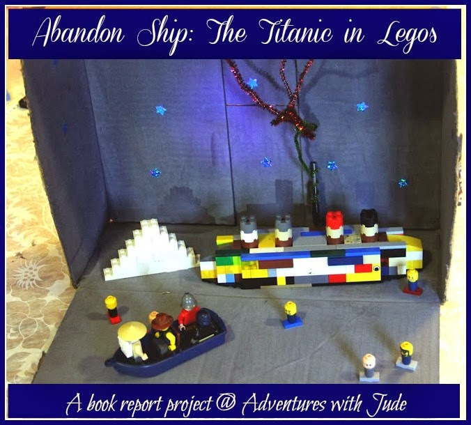 Titanic book report in LEGOs