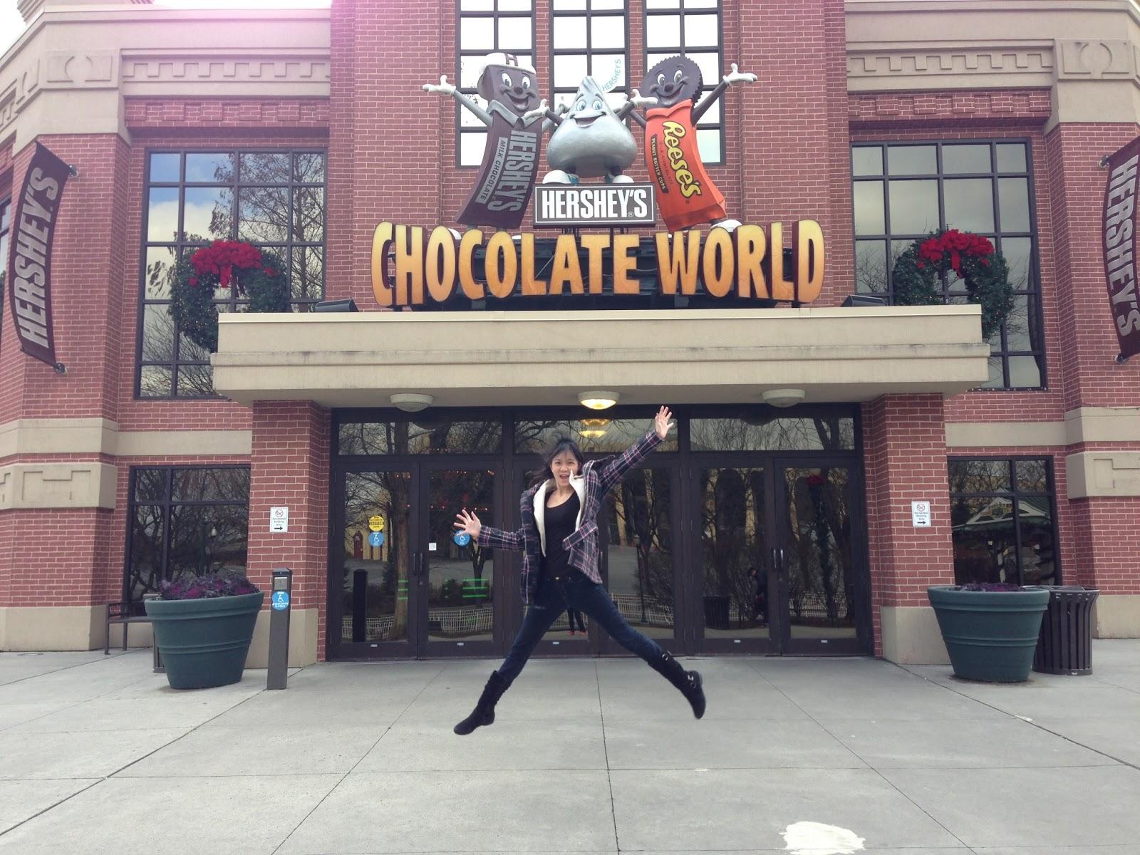 louisatrixie: USA Trip Day 4: Hershey's Chocolate World