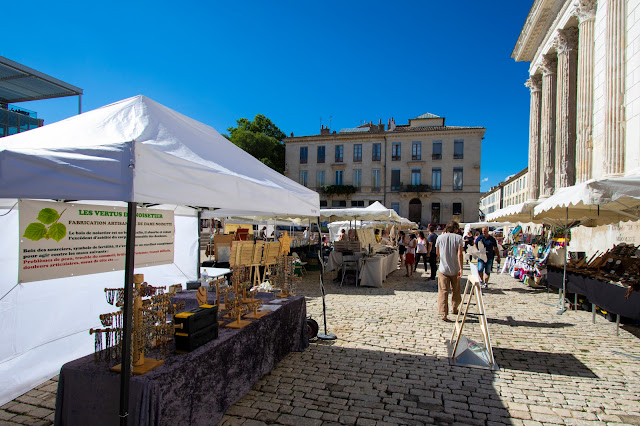 Maison Carrée e mercato-Nimes