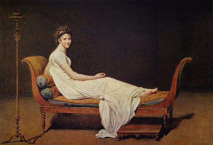 Resultado de imagen de blogspot, Jacques-Louis David (1748-1825), recamier
