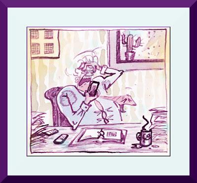 Comic-Kurs von MirRoy in der Sommerakademie Gmünd