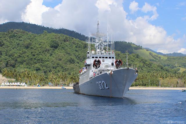 KRI Utung Sropati - 372 Gagalkan Perampokan Kapal Singapura