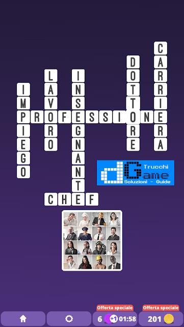 Soluzioni One Clue Crossword livello 25 schemi 11 (Cruciverba illustrato)  | Parole e foto