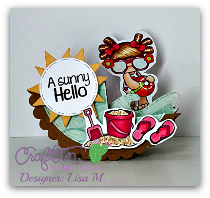 Created In The Crafting Cave with Lisa using Craftin Desert Divas Products
