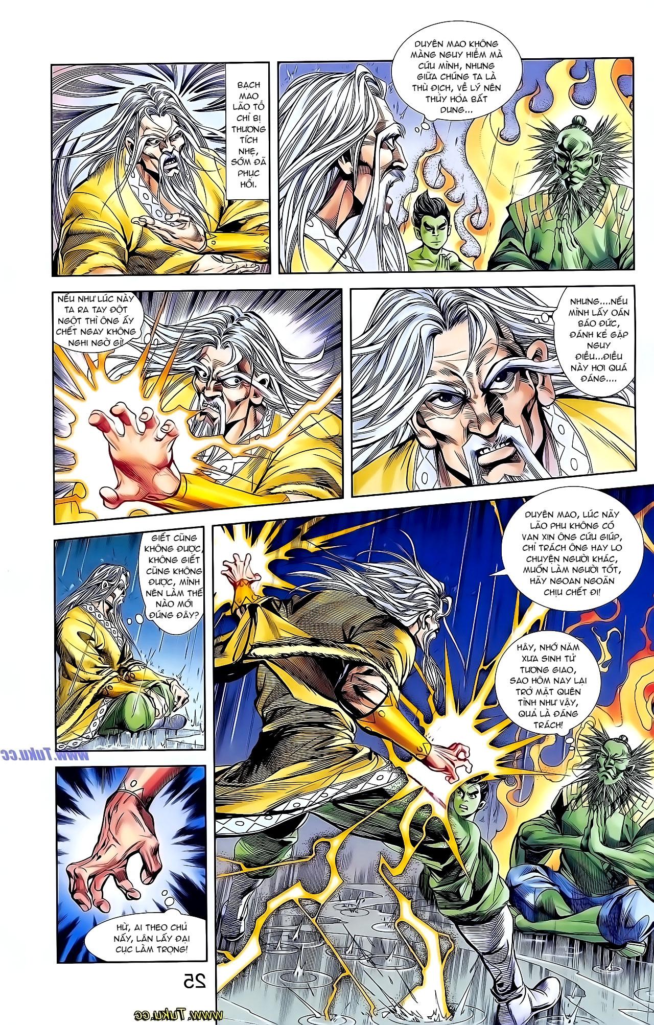 Cơ Phát Khai Chu Bản chapter 129 trang 22