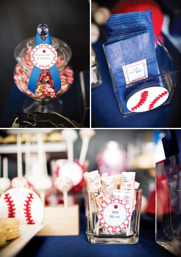 Pastel Parties Baseball Baby Shower