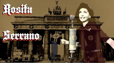 Rosita Serrano, el ruiseñor chileno, la gran diva de la canción alemana de la Segunda Guerra Mundial.