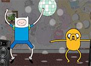 Finn y Jake funny Dance