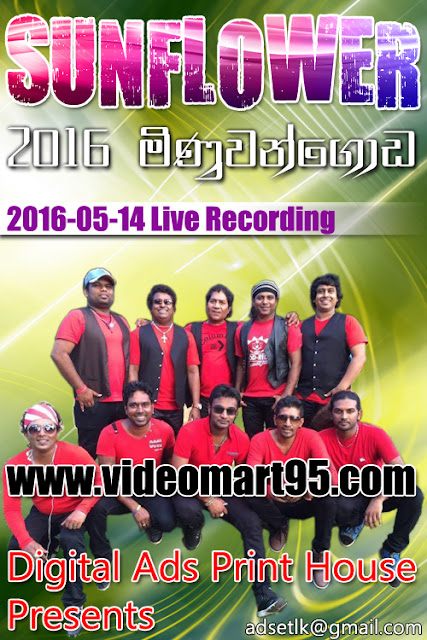 SUNFLOWER LIVE IN MINUWANGODA 2016-05-14