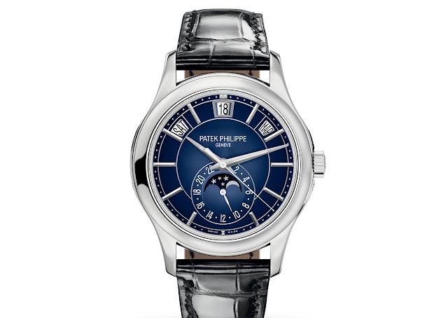 Patek Philippe Ref. 5205G-013 Annual Calendar Blue Dial