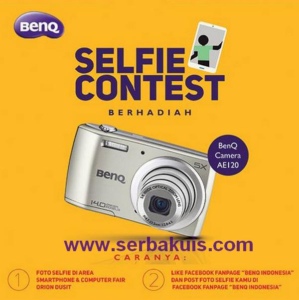 Kontes Selfie Berhadiah Kamera Digital BenQ AE120