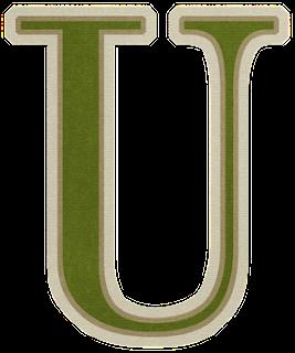 Alfabeto con Suaves Colores Navideños.
