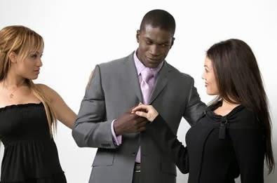 White girls seeking black men