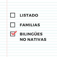 Lista de padres que hablan en inglés a hijos sin ser nativos