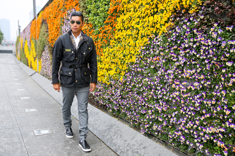 Barbour Shanghai Style, Leo Chan, Levitate Style, Menswear