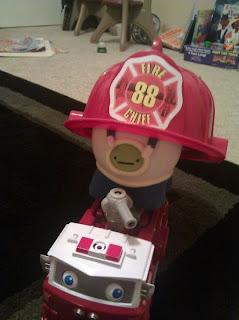 Fireman Monster