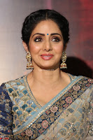 Sri Devi in designer saree stunning beauty at the launch of MOM movie Trailer~  Exclusive 016.JPG