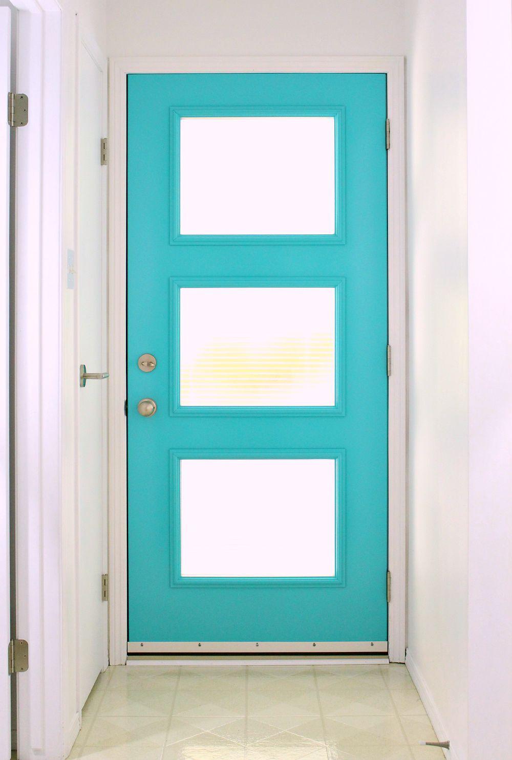 A New Mid-Century Modern Inspired Exterior Door | Dans le ...
