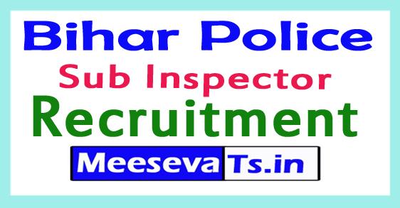 Bihar Police Sub Inspector Recruitment 2017