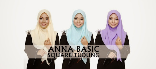 ANNA BASIC SQUARE TUDUNG