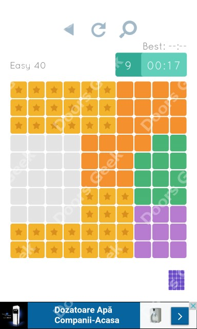 Cheats, Walkthrough for Blocks and Shapes Level 40