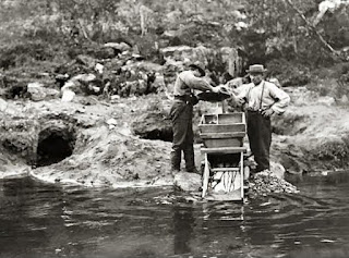 batear ouro no rio