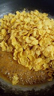 Resepi Cornflakes Madu Simple