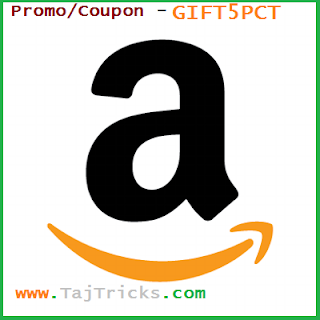 Amazon Rs 50 Off on Email Gift Card