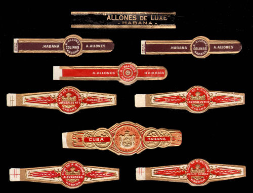History of Ramon Allones Cigar Bands
