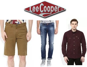 Lee Cooper Men's Clothing – Flat 60% Off @ Amazon