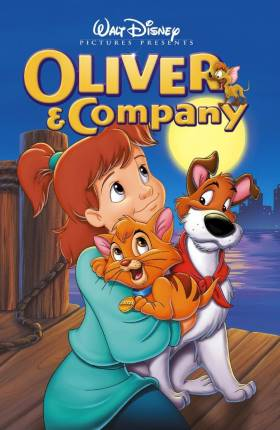 Oliver & Company 1988 Dual Audio Hindi 300MB Movie Download