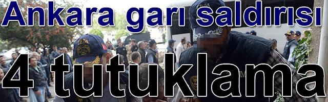 Ankara Garinda teror saldirisi 4 tutuklama