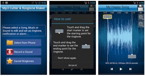 Aplikasi untuk memotong dan menggabungkan musik mp3 di Android