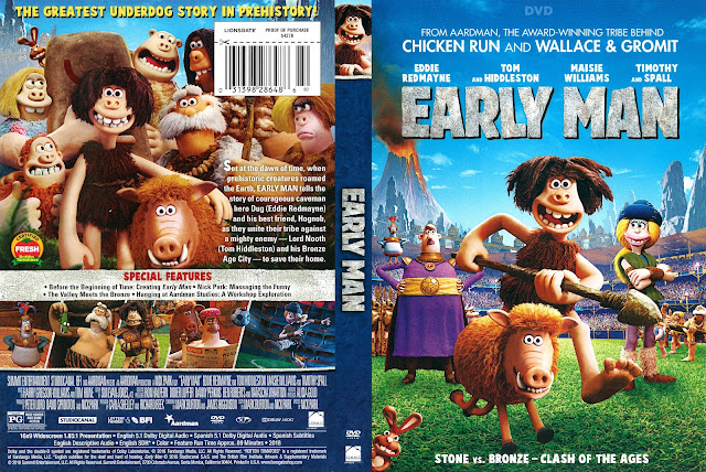 Early Man (scan) DVD Cover