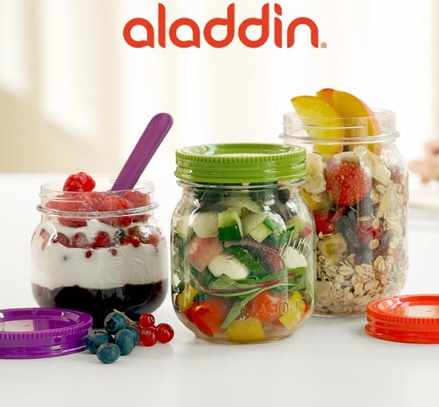 aladdin food storage jar set giveaway