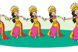 Mengenal Tari Pendet Dari Bali, Tema 6, Subtema 2, Pembelajaran 6