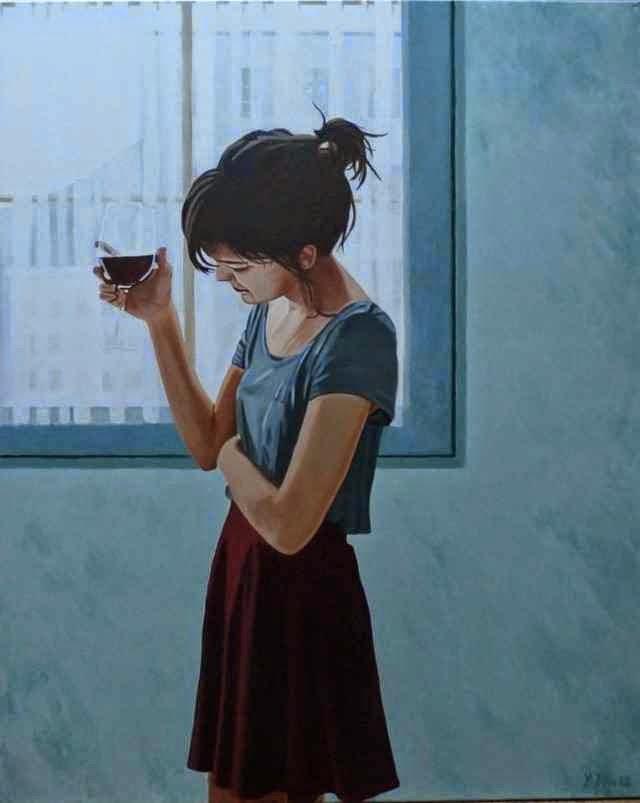 В одиночестве и печали. Yvan Favre