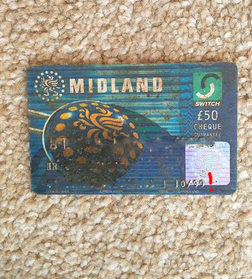 a debit card