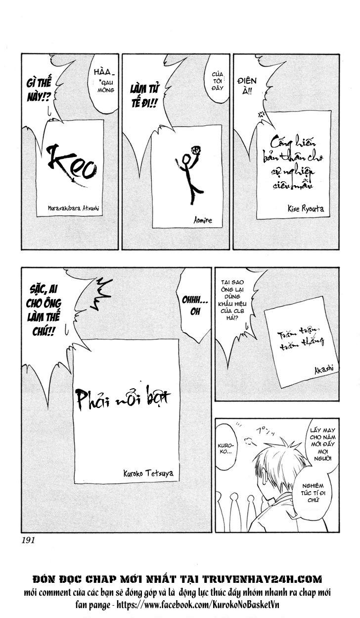 Kuroko No Basket bonus trang 3