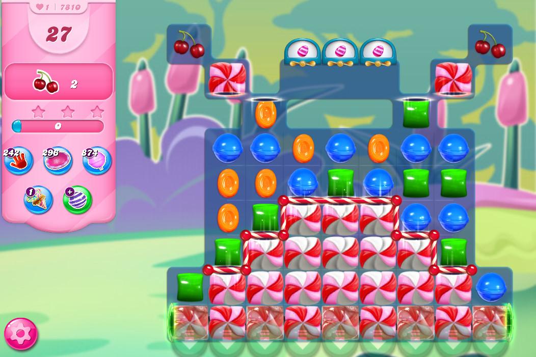 Candy Crush Saga level 7810