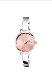 Swizzton pink dial women's watches