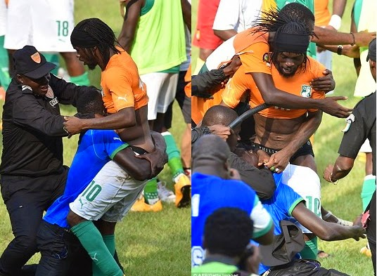 fans strip ivory coast players