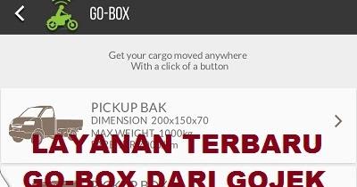 Hadirnya Layanan GoBox Dari Gojek / GoBox Gojek