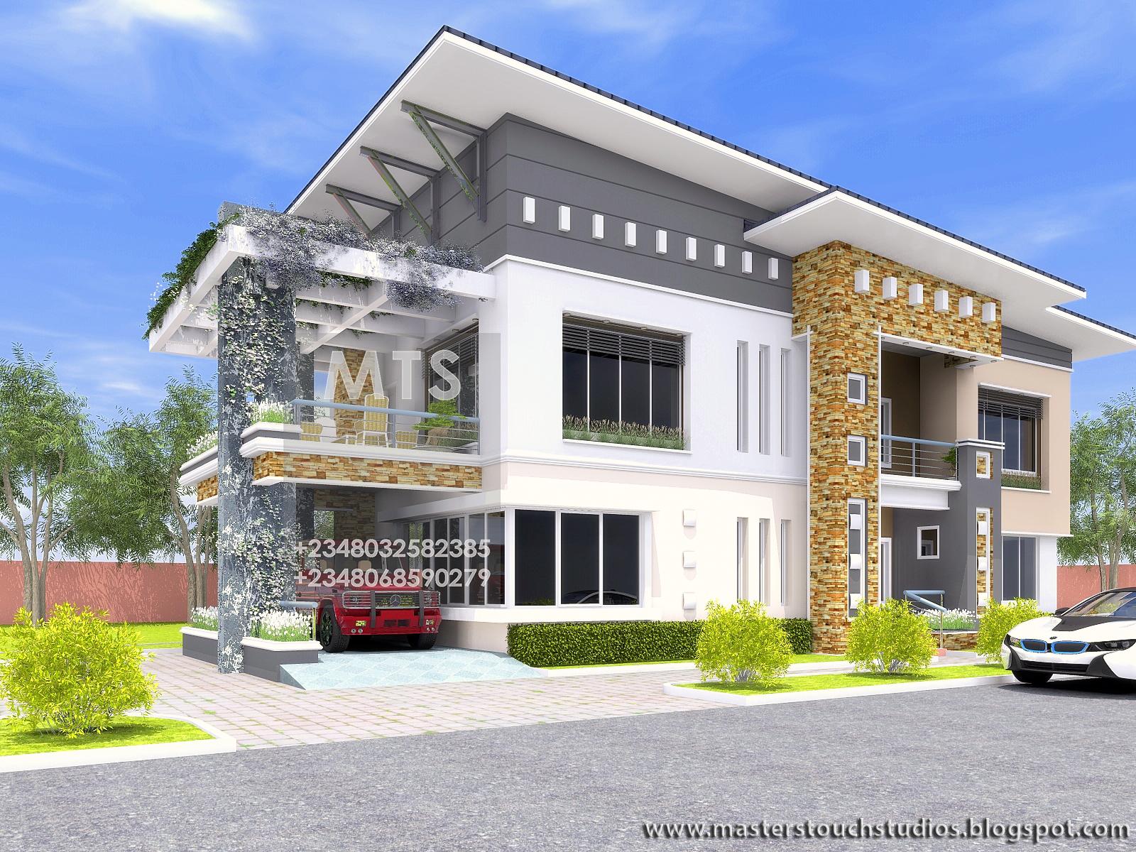 Best Kitchen Gallery: Engr Eddy 6 Bedroom Duplex Residential Homes And Public Designs of Modern Duplex House In Nigeria on rachelxblog.com